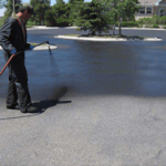 Parking Lot Sealcoating and Striping