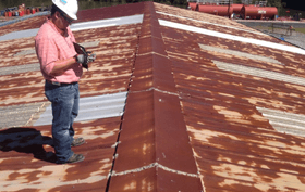 cost to repair a metal roof