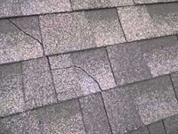 cracked shingle
