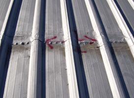 exposed fasteners