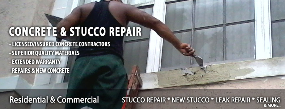 Stucco Wall Repair Contractor in Boca Raton