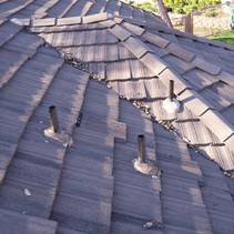 tile roof valley repair