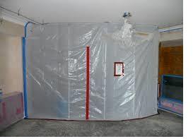 Negative air pressure containment