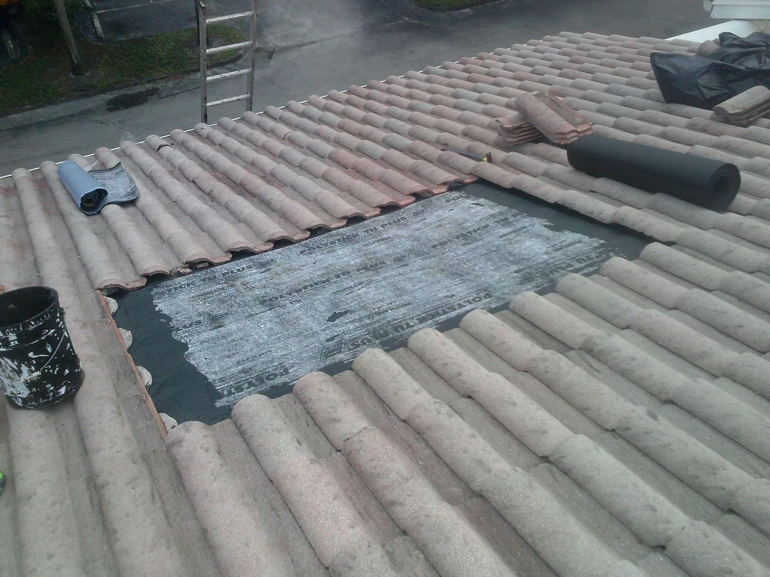 fix tile tile roof