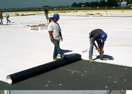 commercial single ply roof