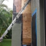 replace rotten wood on chmney