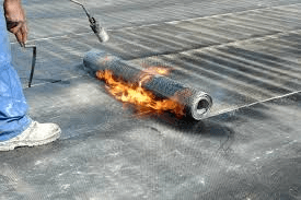 torch applied commercial roofing