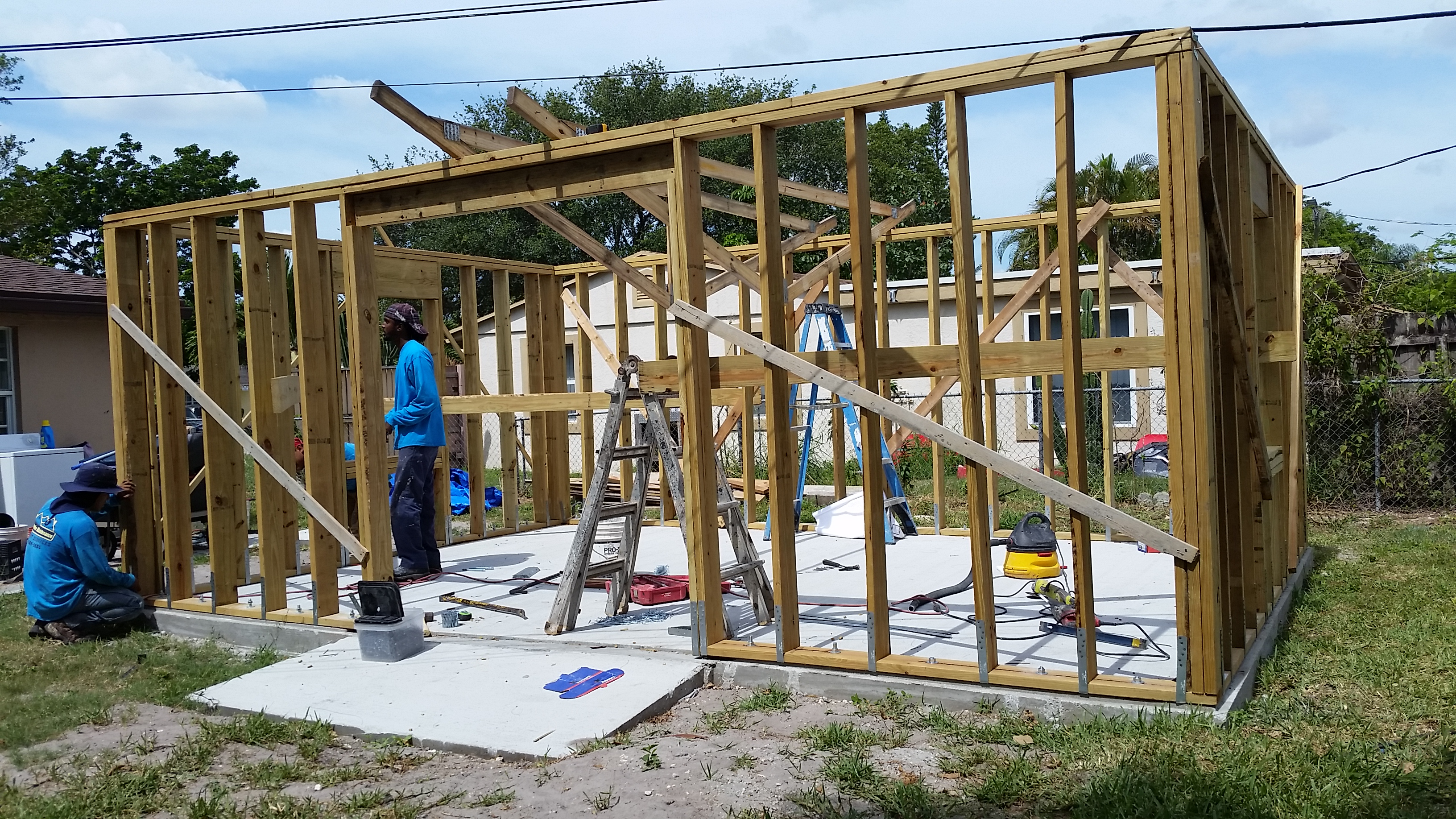 building an addition on a home