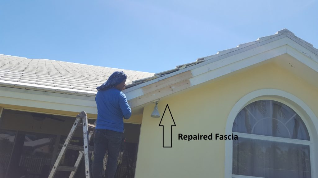 Rotten Fascia And Soffit Repair In Boca Raton Preventive