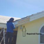 Rotten Fascia and Soffit Repair in Boca Raton