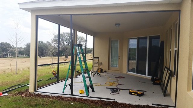 Lanai Screen Installation Cost Preventive Maintenance