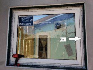 fin window instillation