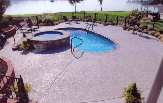 Beau Pool Deck Resurfacing