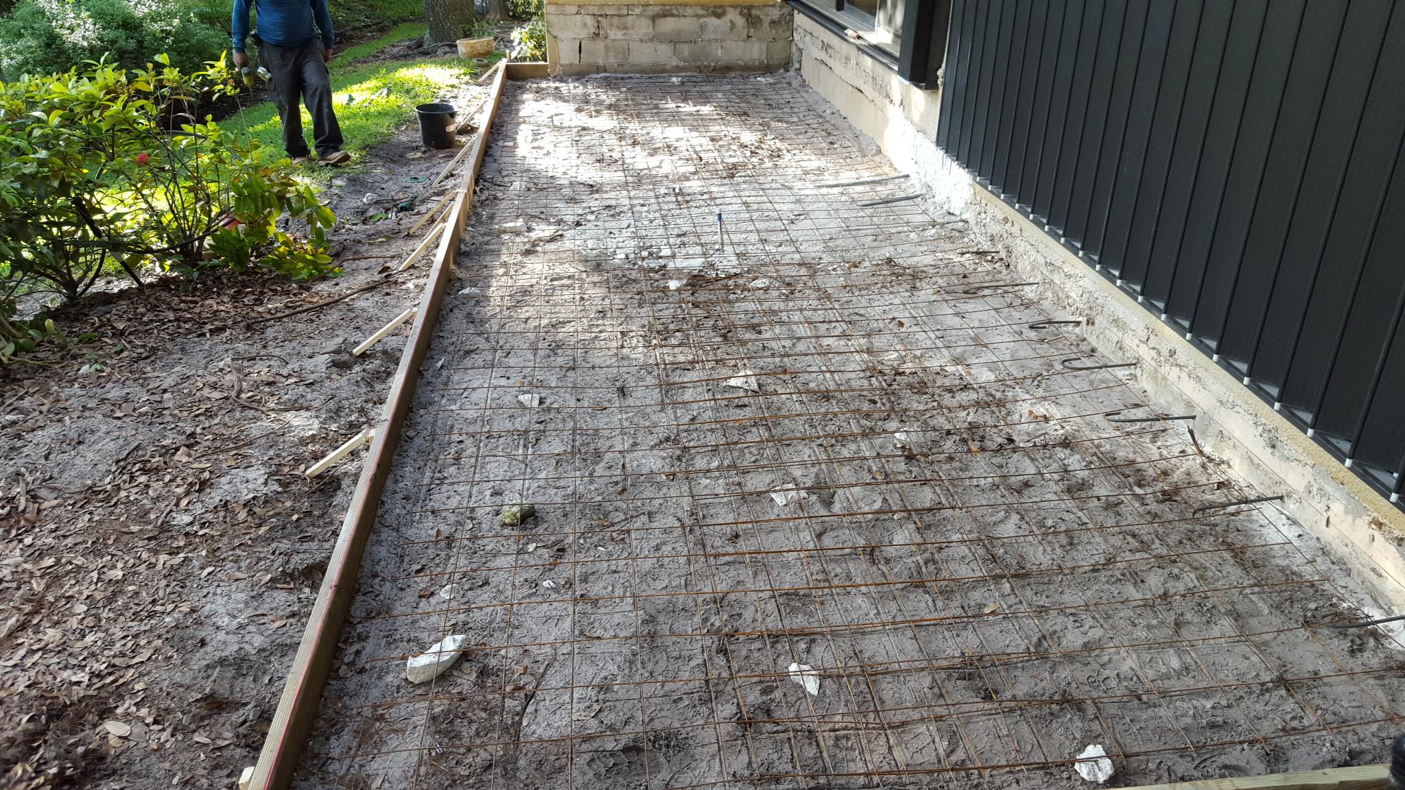 Concrete forms