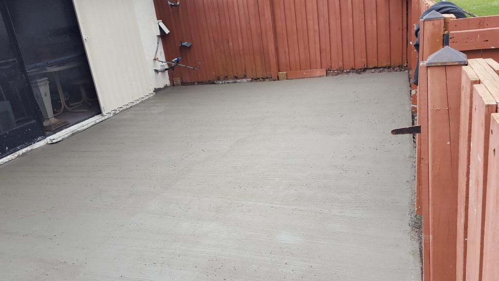 Pouring A New Concrete Patio Preventive Maintenance