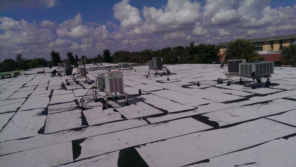 Commercial Flat Re Roofing In Oakland Park Preventive