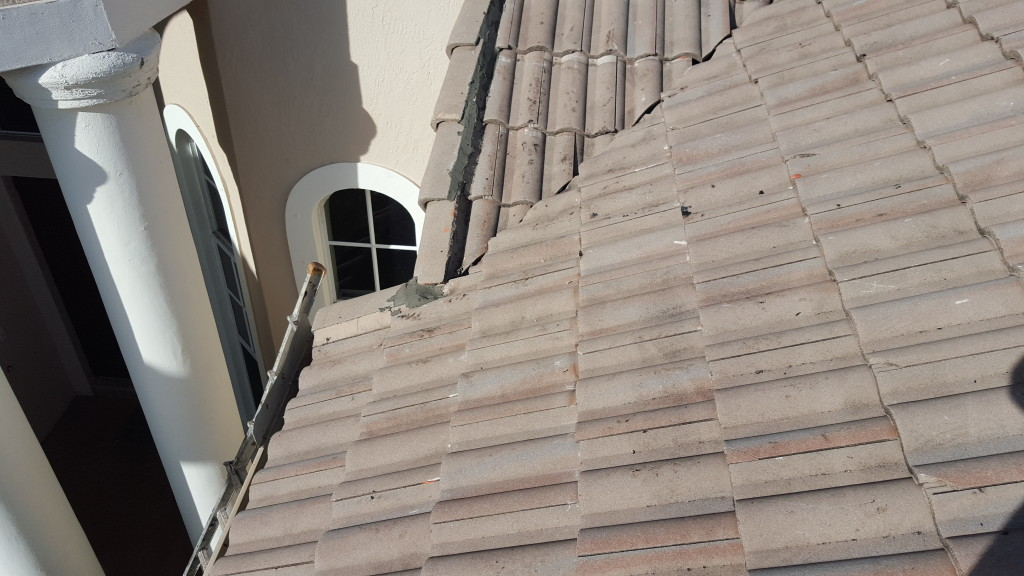 Tile Roof Repair For Joe C In Parkland Florida