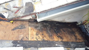 rc rotten wood on roof