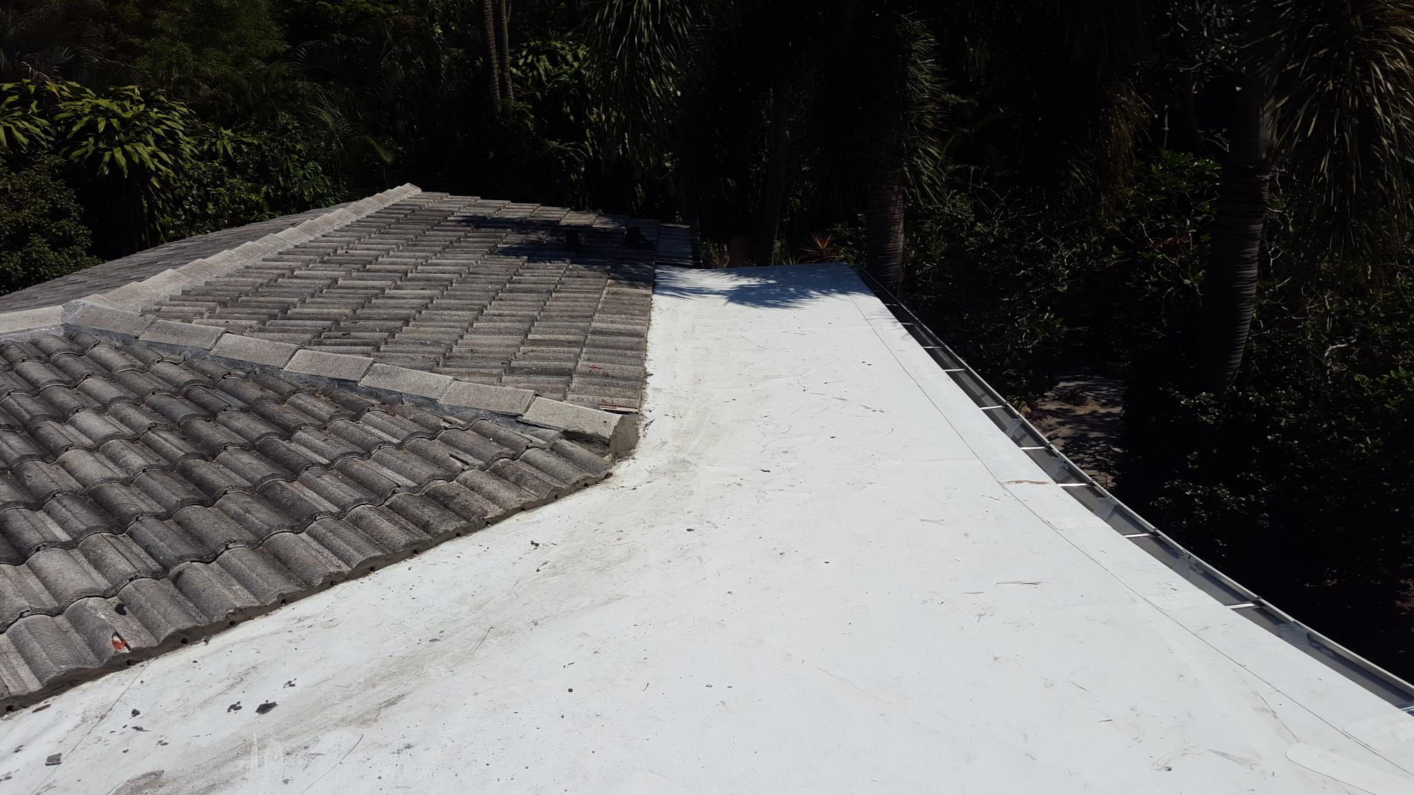 repair leaking roof